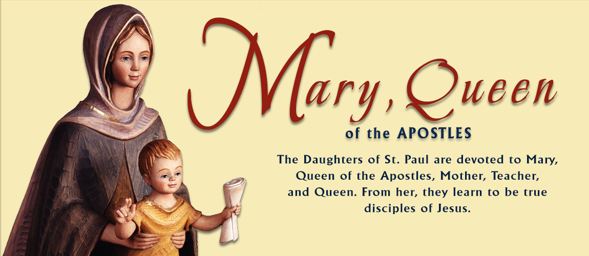 MARY, QUEEN OF THE APOSTLES BANNER 1